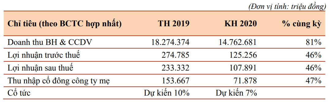 Đại gia phân phối xe đặt mục tiêu lợi nhuận năm 2020 giảm một nửa, còn 72 tỉ đồng - Ảnh 2.