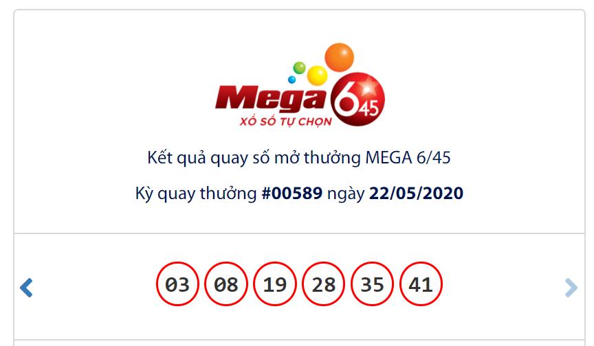 Kết quả Vietlott Mega 6/45 ngày 22/5: Jackpot chạm mốc gần 34 tỉ đồng vẫn chờ chủ - Ảnh 1.
