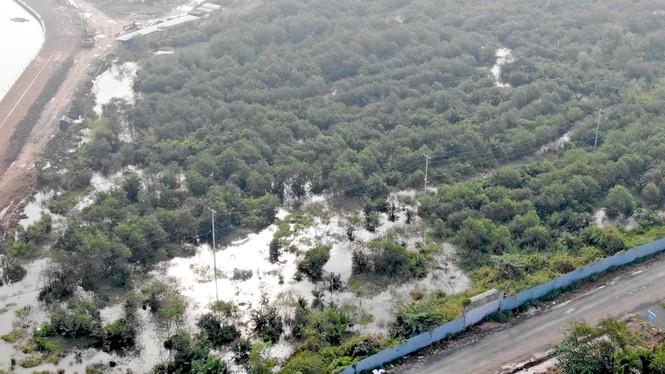 Con đường ven sông trị giá 'tỉ đô' ở Sài Gòn nhìn từ trên cao - Ảnh 11.