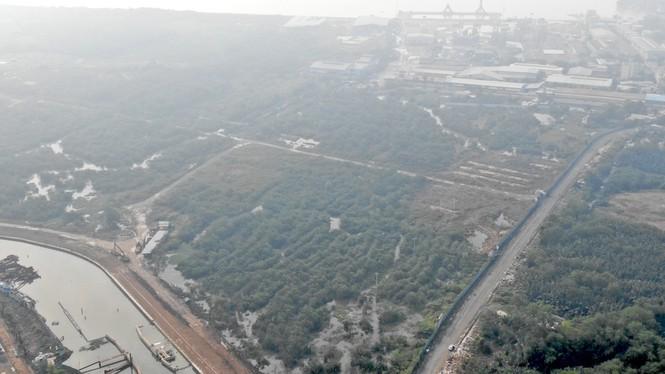 Con đường ven sông trị giá 'tỉ đô' ở Sài Gòn nhìn từ trên cao - Ảnh 6.