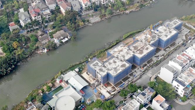 Con đường ven sông trị giá 'tỉ đô' ở Sài Gòn nhìn từ trên cao - Ảnh 16.