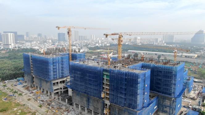 Con đường ven sông trị giá 'tỉ đô' ở Sài Gòn nhìn từ trên cao - Ảnh 17.