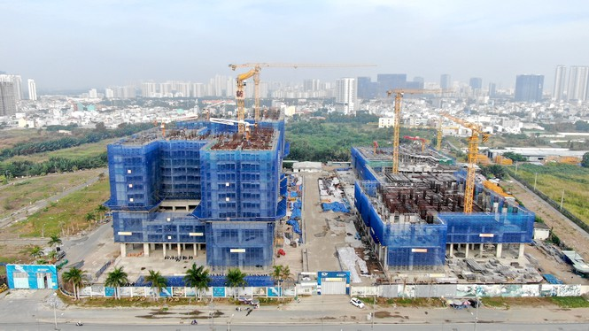 Con đường ven sông trị giá 'tỉ đô' ở Sài Gòn nhìn từ trên cao - Ảnh 20.