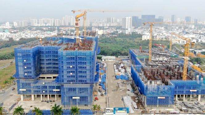 Con đường ven sông trị giá 'tỉ đô' ở Sài Gòn nhìn từ trên cao - Ảnh 21.