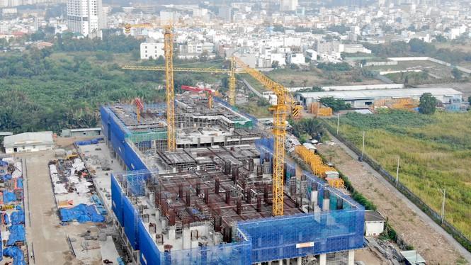 Con đường ven sông trị giá 'tỉ đô' ở Sài Gòn nhìn từ trên cao - Ảnh 23.