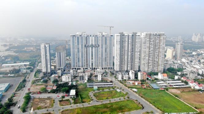 Con đường ven sông trị giá 'tỉ đô' ở Sài Gòn nhìn từ trên cao - Ảnh 25.