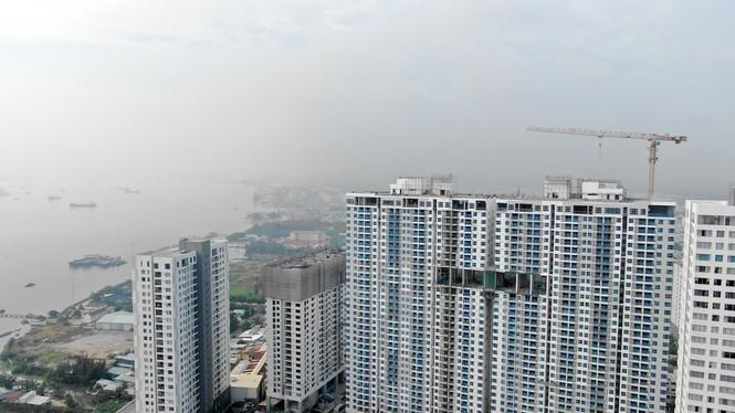 Con đường ven sông trị giá 'tỉ đô' ở Sài Gòn nhìn từ trên cao - Ảnh 27.