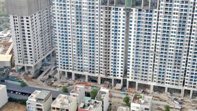 Con đường ven sông trị giá 'tỉ đô' ở Sài Gòn nhìn từ trên cao - Ảnh 30.