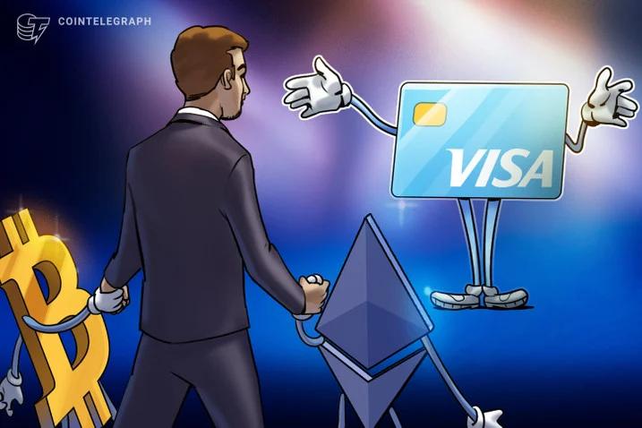 Visa ra mắt thẻ ghi nợ tiền ổn định giá mới (nguồn: CoinTelegraph)