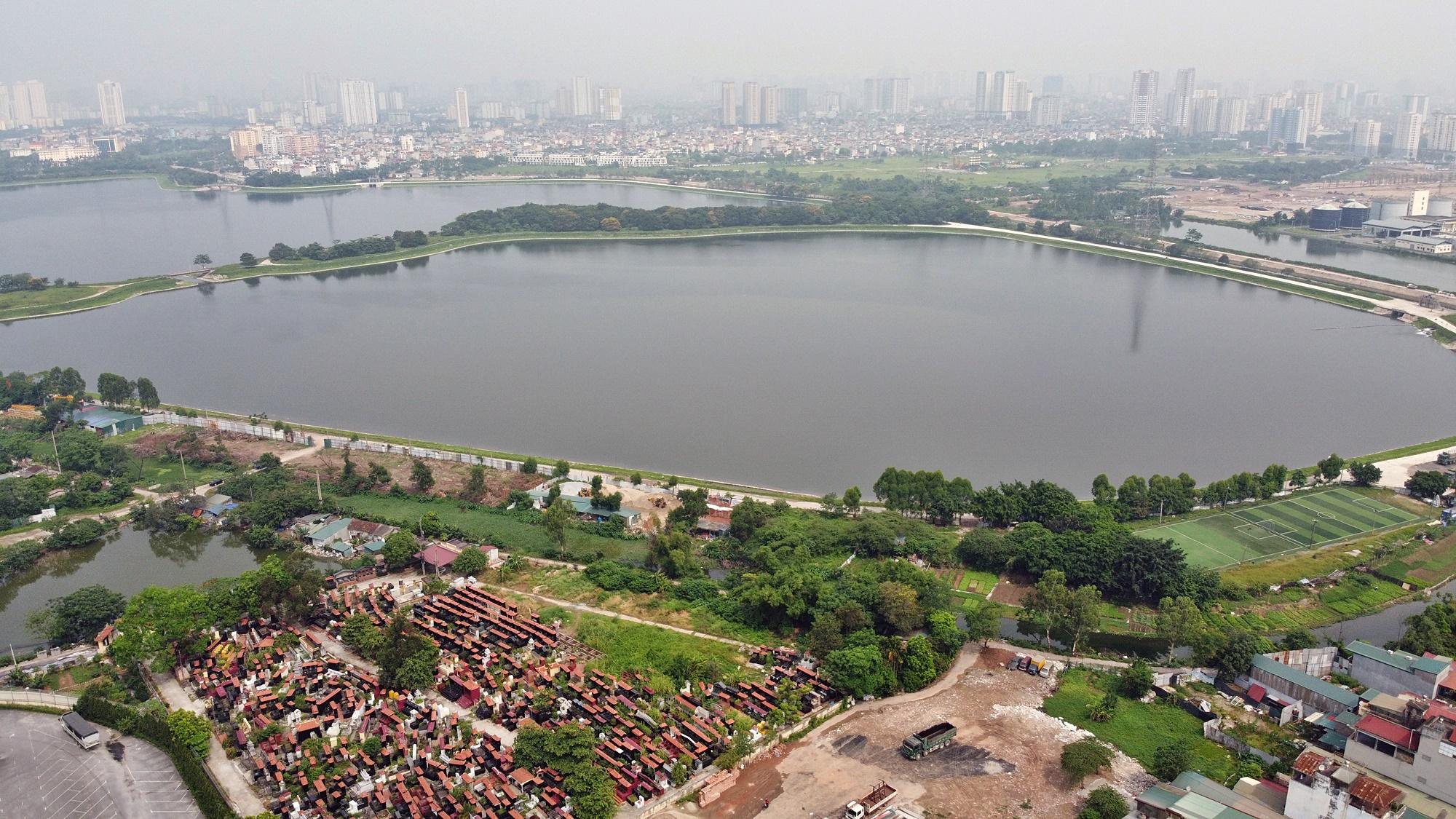 Toàn cảnh nơi xây dựng Khu đô thị ven hồ Yên Sở hơn 190ha - Ảnh 14.