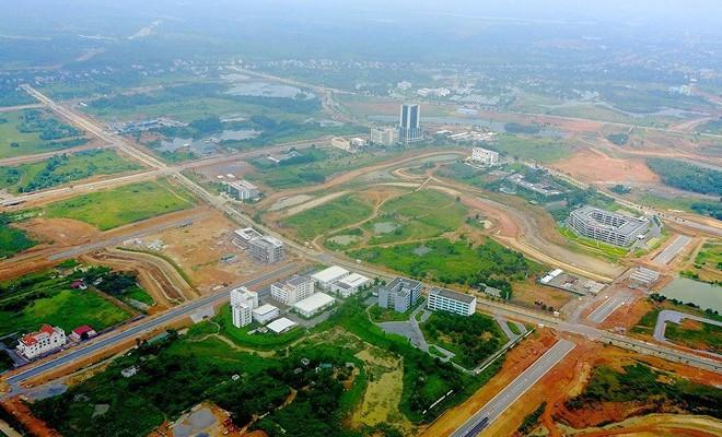 Duyệt qui hoạch chung siêu đô thị Hòa Lạc rộng hơn 17.000 ha - Ảnh 1.