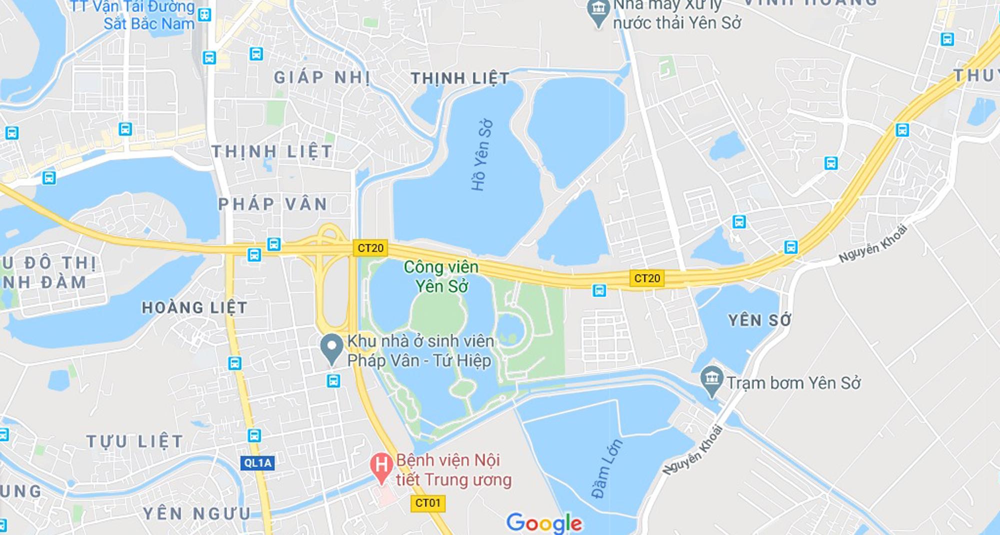 Toàn cảnh nơi xây dựng Khu đô thị ven hồ Yên Sở hơn 190ha - Ảnh 1.
