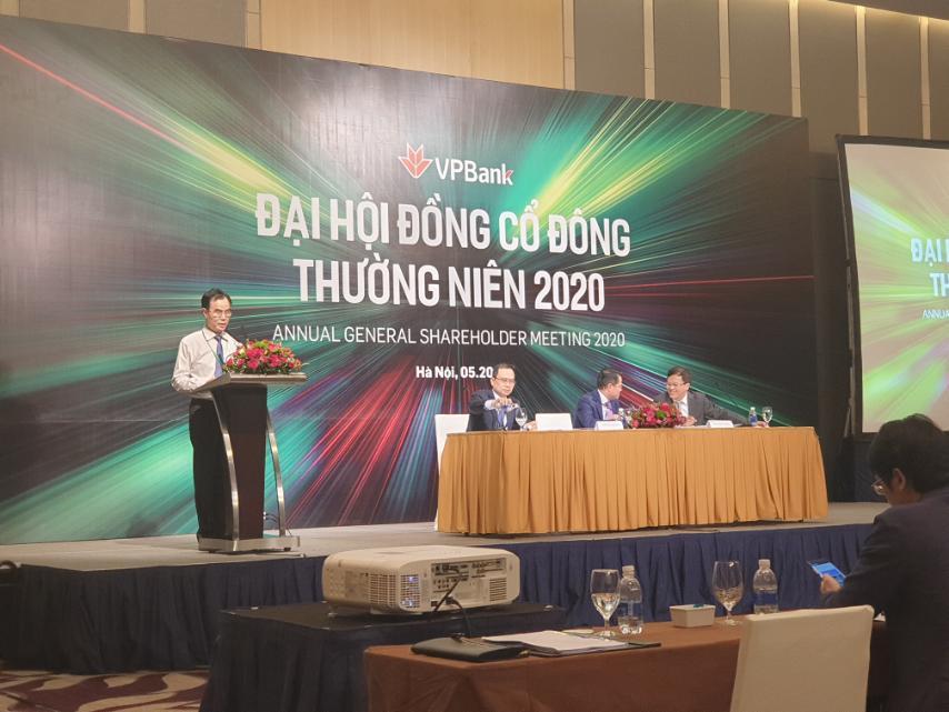 ĐHĐCĐ VPBank: Đặt kế hoạch tăng trưởng dư nợ 12,3%, bầu nhân sự HĐQT, Ban kiểm soát mới - Ảnh 1.