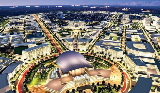 Thành lập Ban Chỉ đạo về xây dựng Khu đô thị sáng tạo, tương tác cao phía Đông - Ảnh 1.