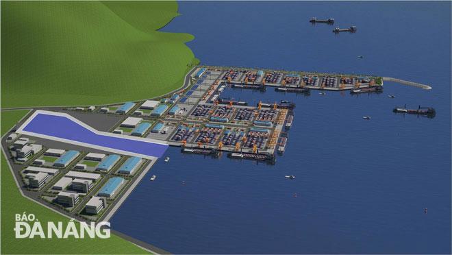 Khẩn trương hoàn thiện các hồ sơ, thủ tục trình Thủ tướng Chính phủ dự án Bến cảng Liên Chiểu - Ảnh 1.