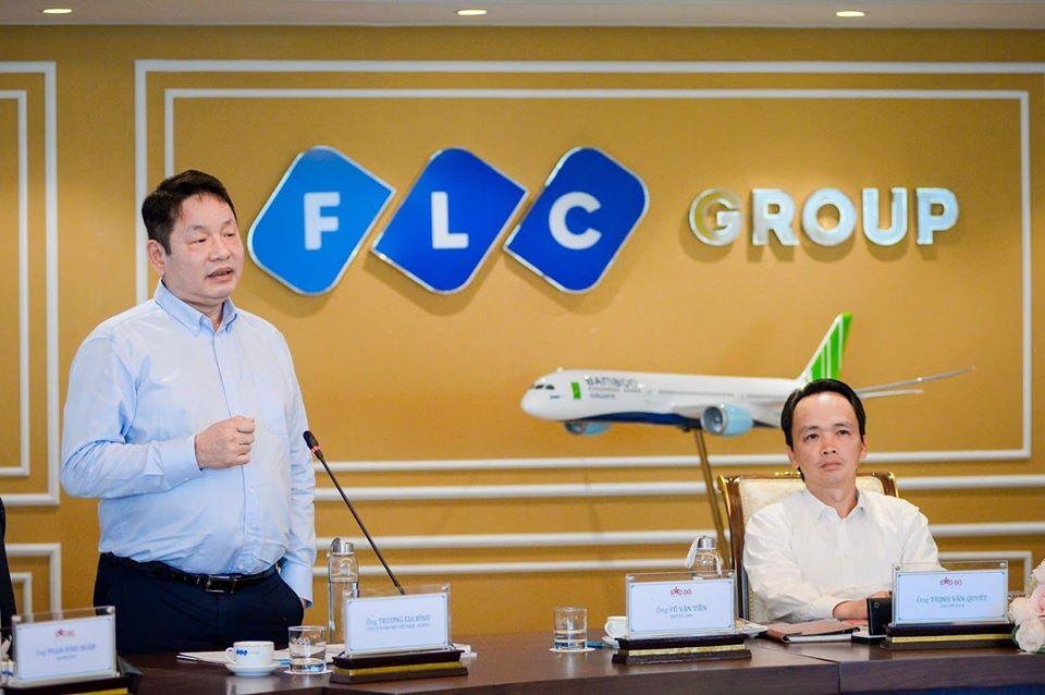 Ông Trương Gia Bình, Chủ tịch Công ty cổ phần FPT. Ảnh: Tập đoàn FLC.
