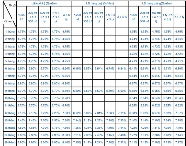 Lãi suất ngân hàng Sacombank mới nhất tháng 5/2020: Cao nhất 8,1%/năm - Ảnh 1.