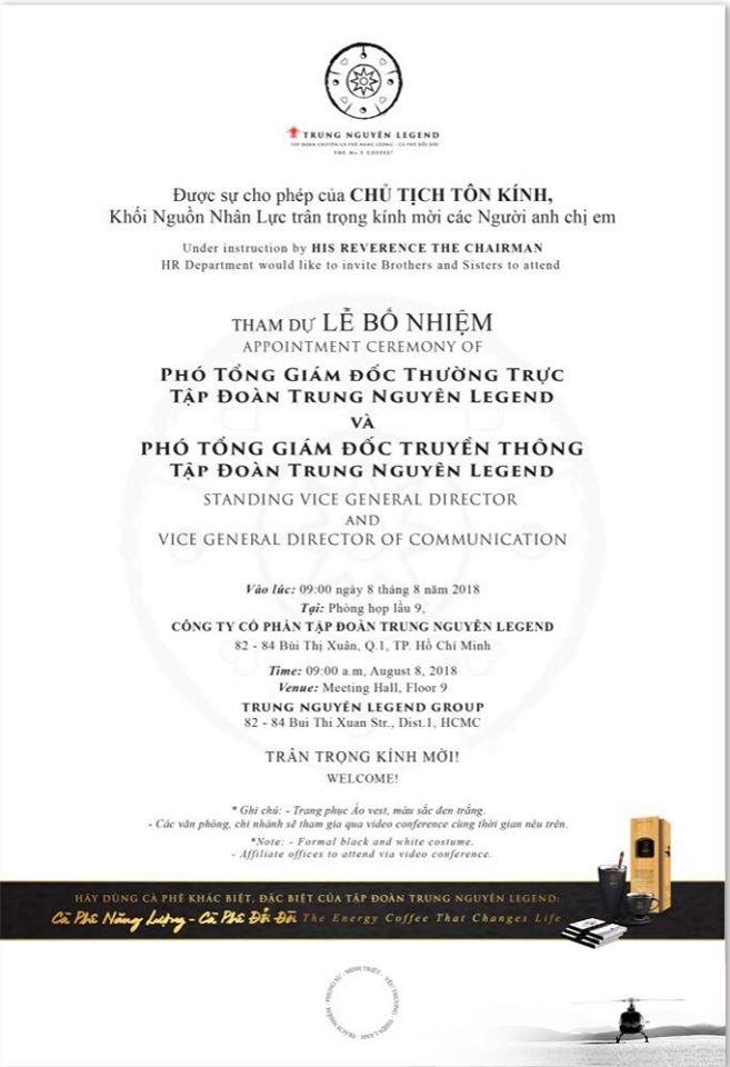 Bà Lê Hoàng Diệp Thảo kể tội 'Phó chủ tịch tâm linh' của Trung Nguyên  - Ảnh 2.