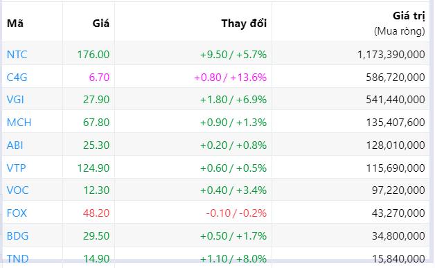Đà bán ròng của khối ngoại suy giảm còn 136 tỉ đồng phiên tăng điểm thứ ba liên tiếp - Ảnh 6.