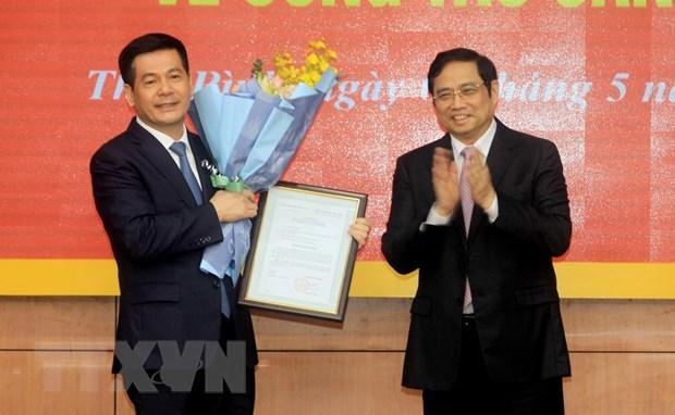 Bí thư Thái Bình Nguyễn Hồng Diên làm Phó trưởng ban Tuyên giáo Trung ương - Ảnh 1.