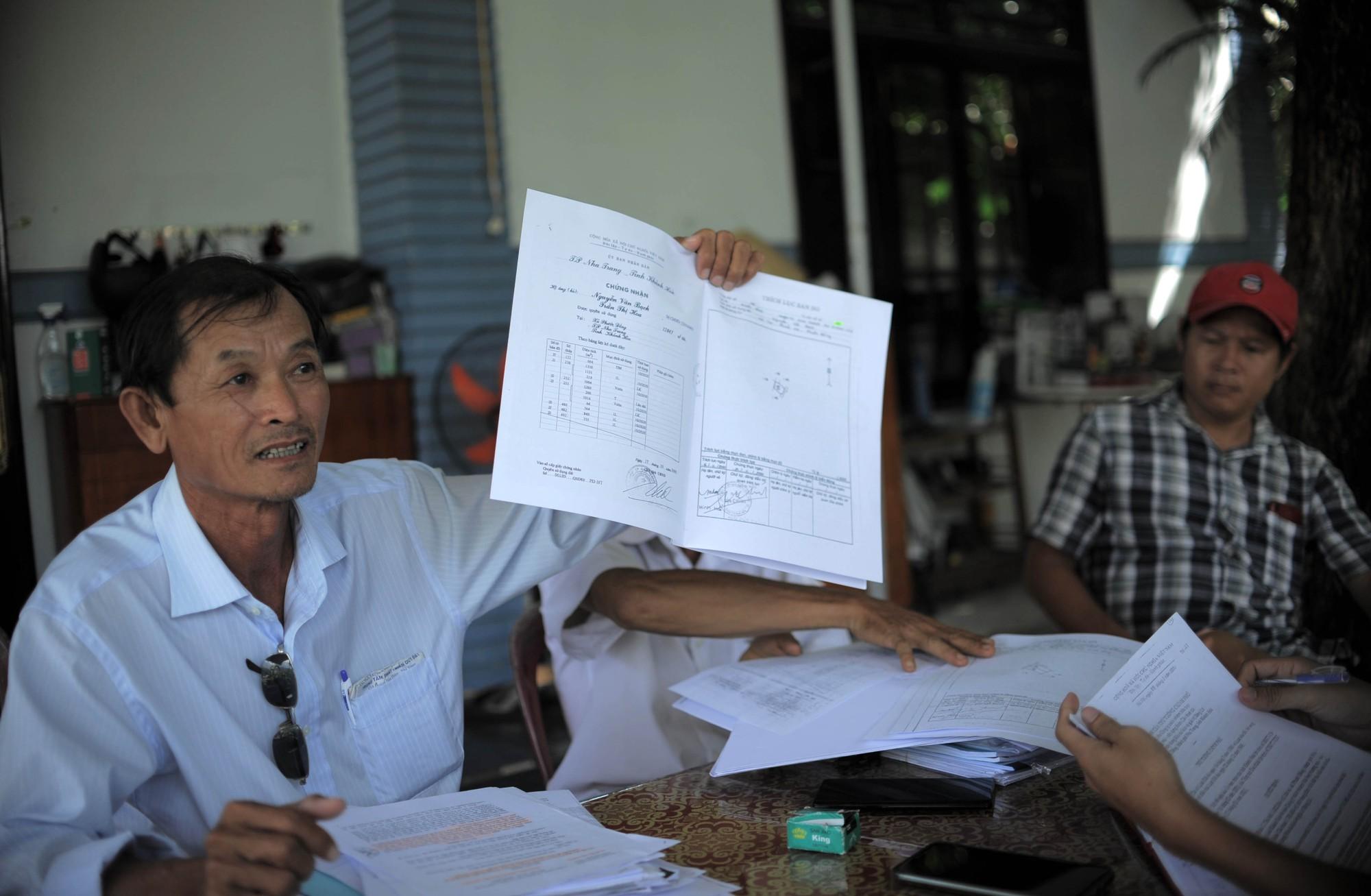 Chủ tịch Khánh Hòa chỉ đạo kiểm tra, rà soát để xử lí vụ người dân bị thu hồi đất tại dự án Diamond Bay - Ảnh 1.