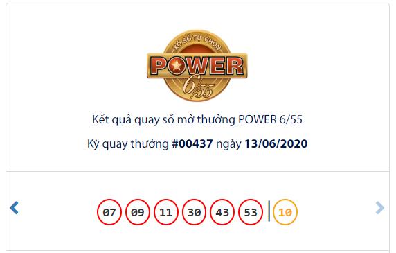 Kết quả Vietlott Power 6/55 ngày 13/6: Chủ nhân jackpot 1 trị giá 52,1 tỉ đồng chưa xuất hiện - Ảnh 1.