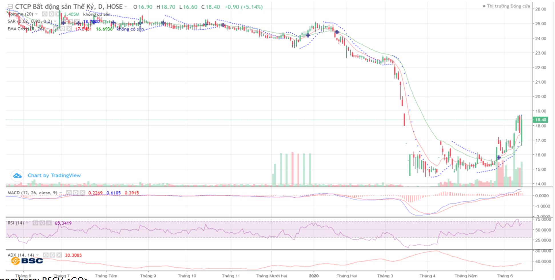 Cổ phiếu tâm điểm ngày 15/6: STB, CRE, NVL, SJS, CMG - Ảnh 3.