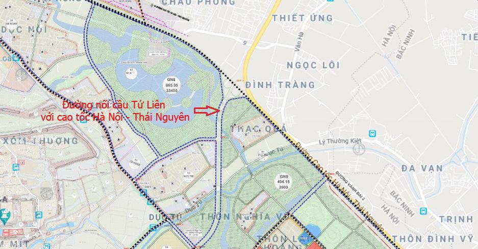 Cầu sẽ mở theo qui hoạch: Toàn cảnh cầu Tứ Liên nối hồ Tây với Đông Anh - Ảnh 19.