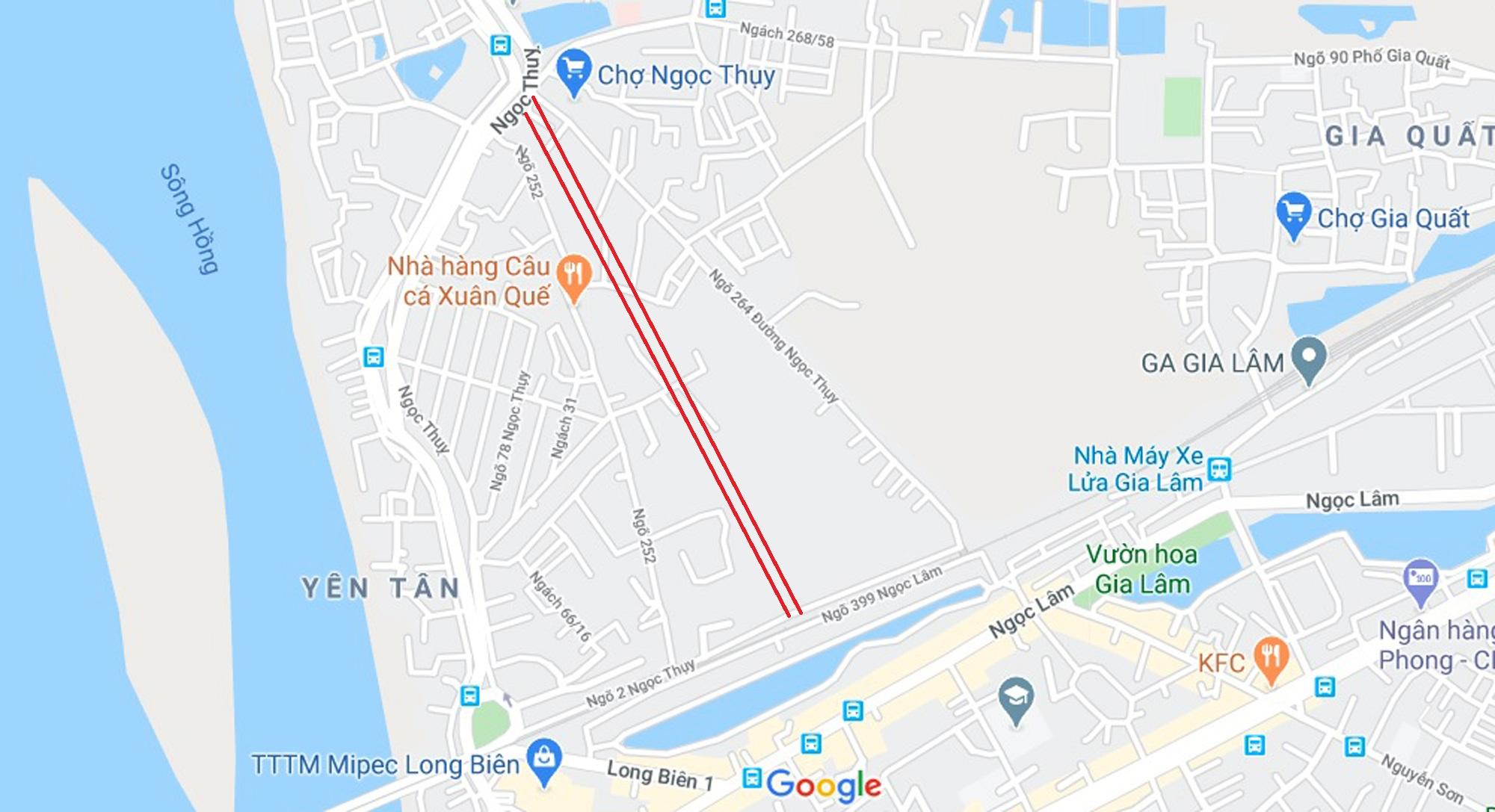 đường sẽ mở theo qui hoạch ở phường Ngọc Thụy, Long Biên, Hà Nội - Ảnh 6.
