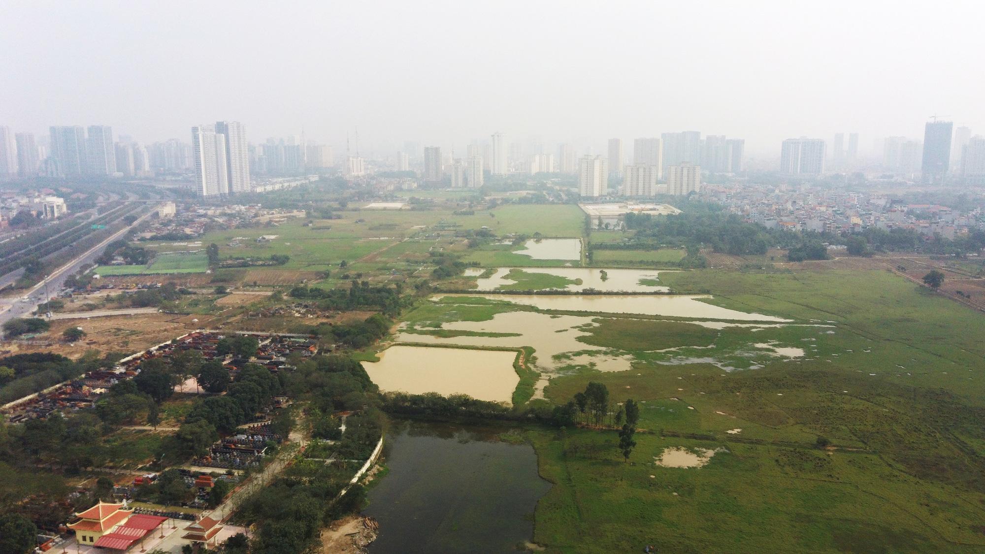 4 mảnh đất sẽ được đào hồ lớn ở quận Nam Từ Liêm - Ảnh 8.