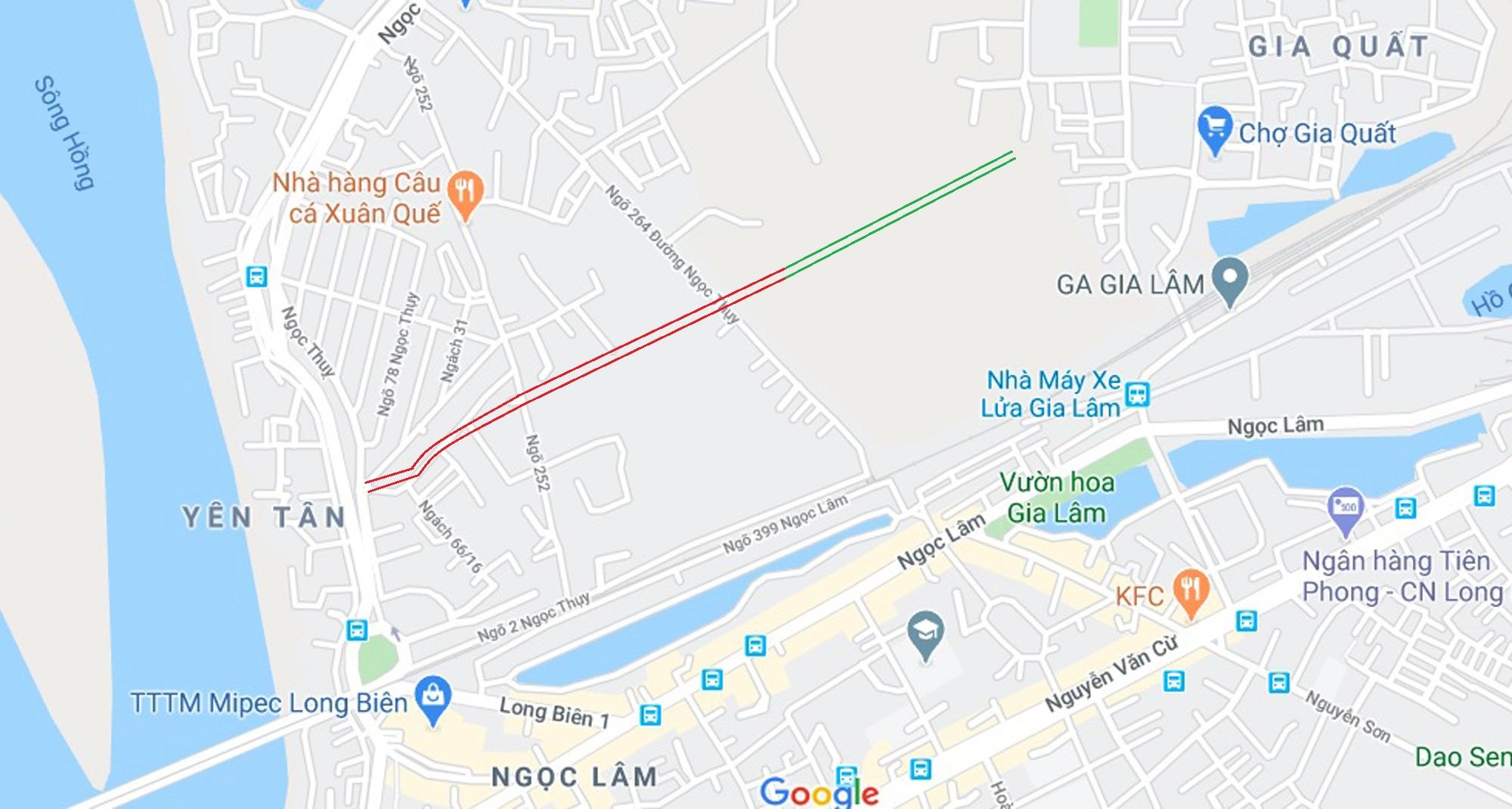4 đường sẽ mở theo qui hoạch ở phường Ngọc Thụy, Long Biên, Hà Nội - Ảnh 10.