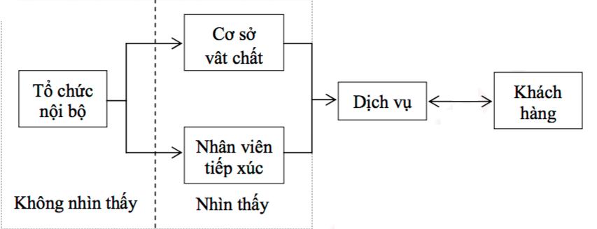 Mô hình SERVUCTION (SERVUCTION model) là gì? Nội dung - Ảnh 2.