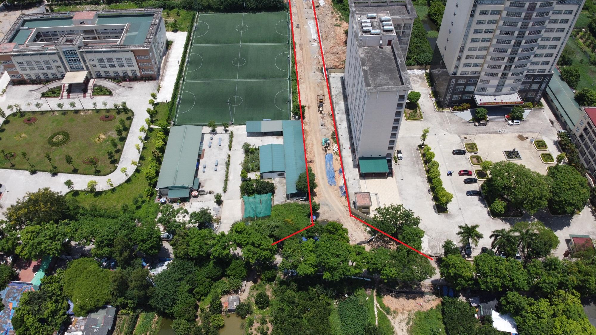 đường sẽ mở theo qui hoạch ở phường Đức Thắng, Bắc Từ Liêm, Hà Nội - Ảnh 6.