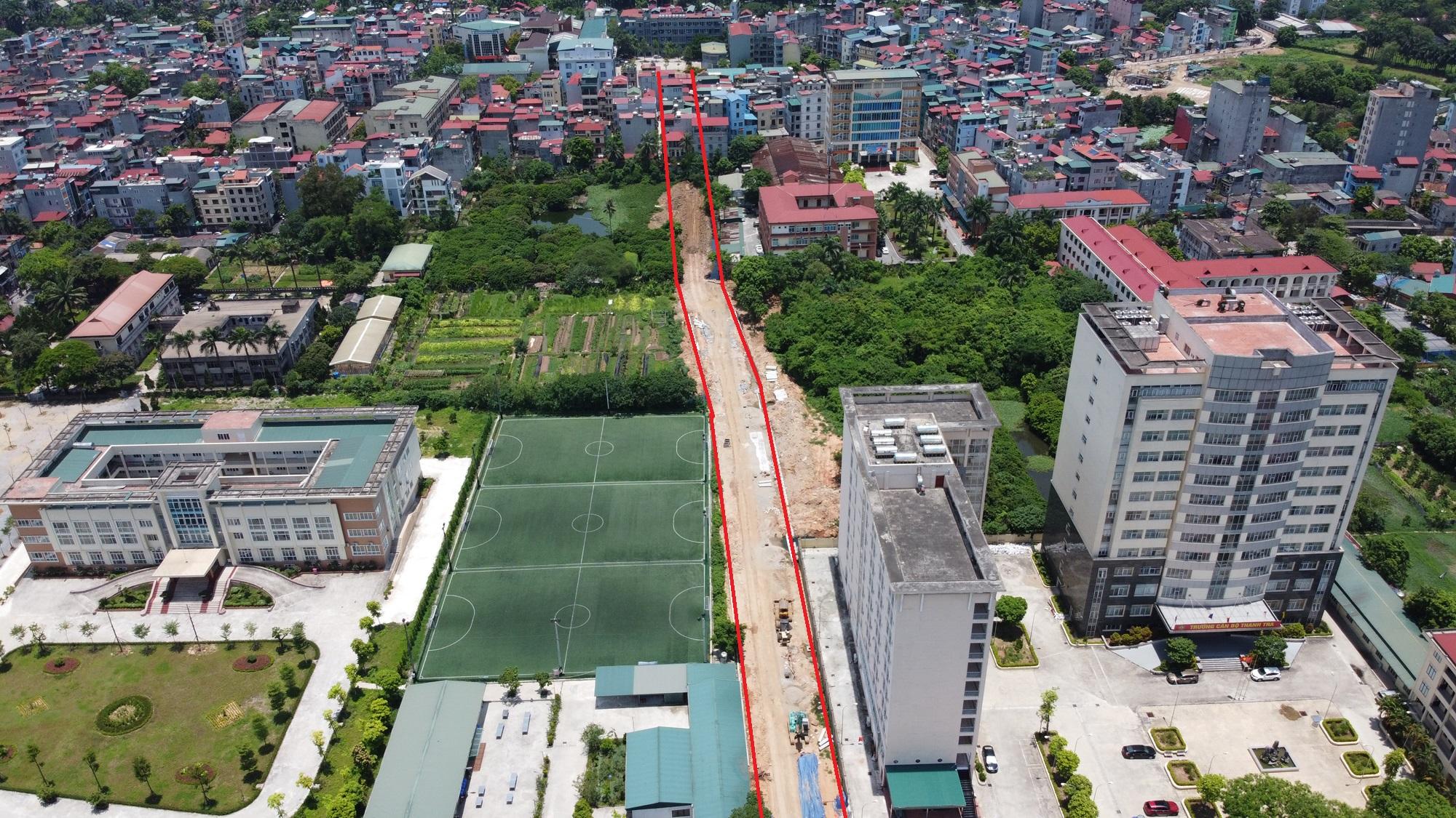 đường sẽ mở theo qui hoạch ở phường Đức Thắng, Bắc Từ Liêm, Hà Nội - Ảnh 7.