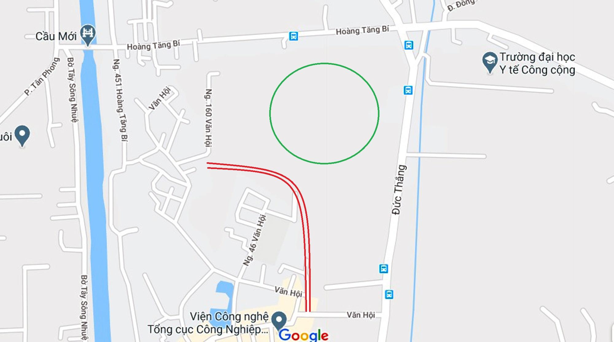4 đường sẽ mở theo qui hoạch ở phường Đức Thắng, Bắc Từ Liêm, Hà Nội - Ảnh 11.