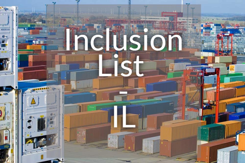 Danh mục Giảm thuế - IL (Inclusion List) là gì? - Ảnh 1.