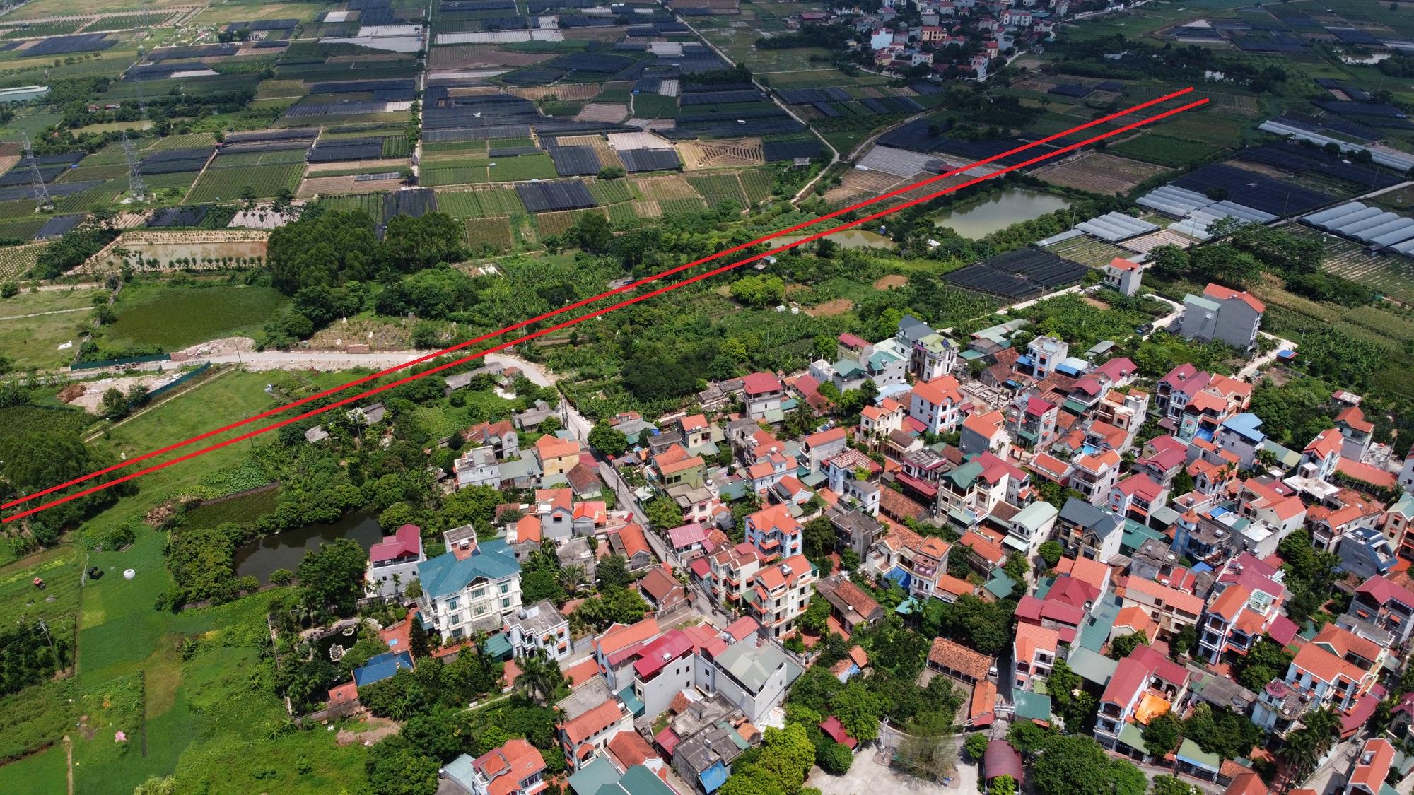 đường sẽ mở theo qui hoạch ở phường Thượng Cát, Bắc Từ Liêm, Hà Nội - Ảnh 7.