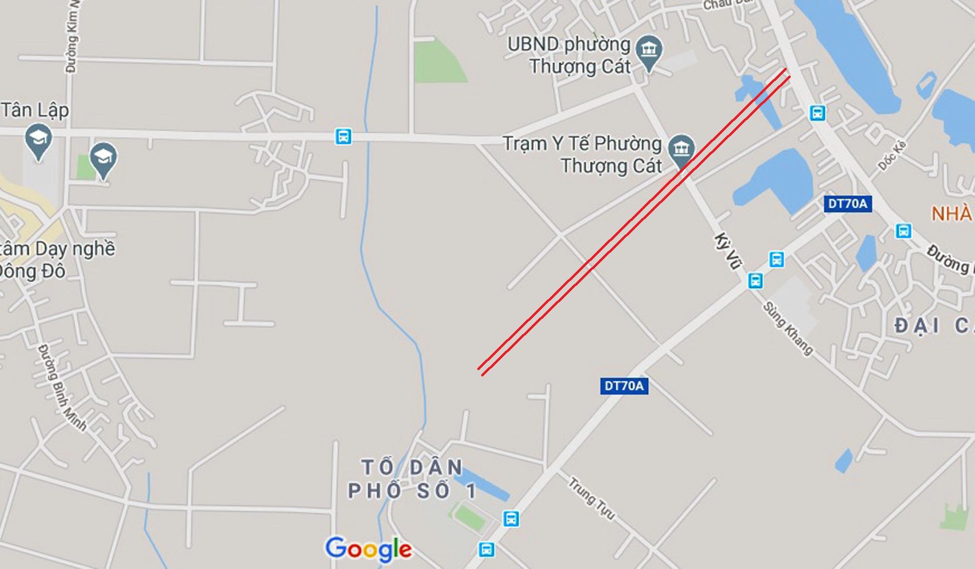 đường sẽ mở theo qui hoạch ở phường Thượng Cát, Bắc Từ Liêm, Hà Nội - Ảnh 8.