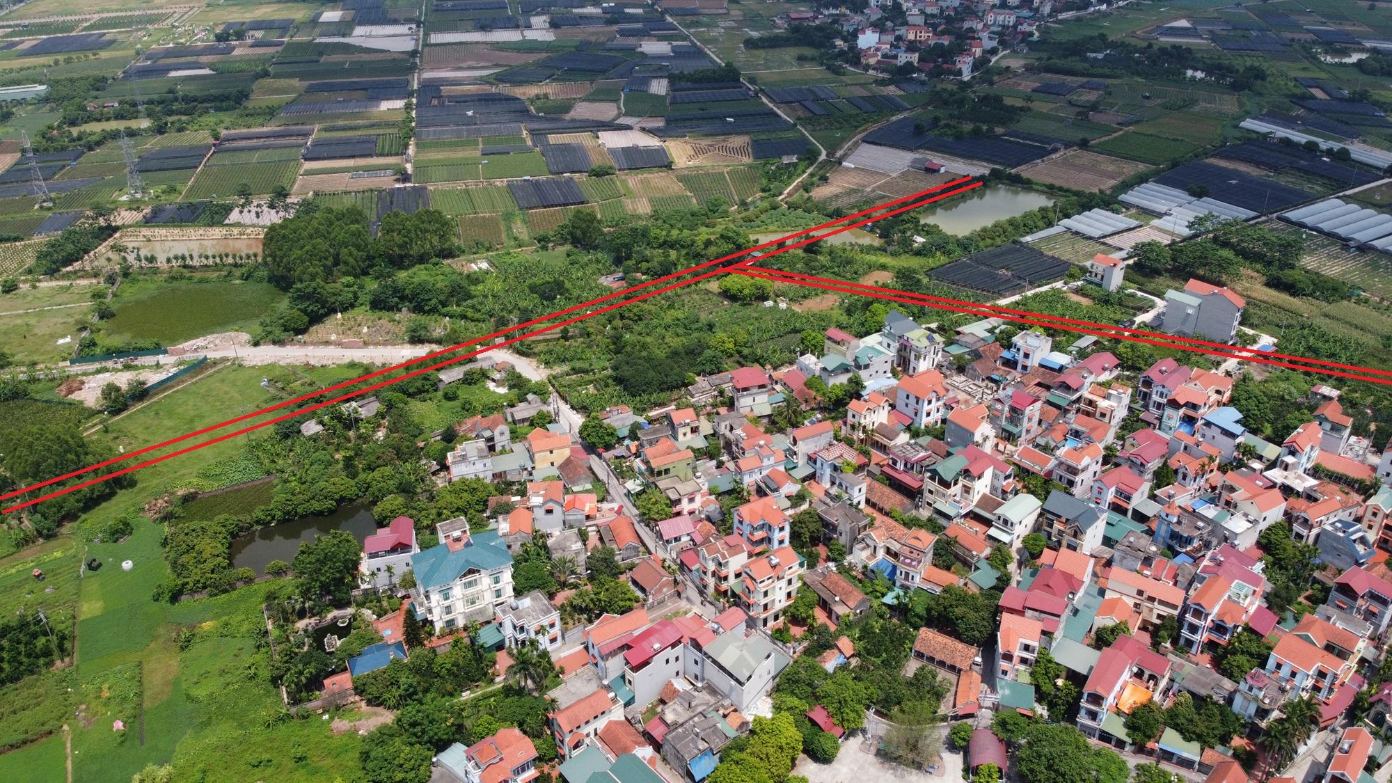 đường sẽ mở theo qui hoạch ở phường Thượng Cát, Bắc Từ Liêm, Hà Nội - Ảnh 14.