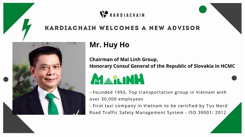 Chủ tịch Tập đoàn Mai Linh làm cố vấn cho Startup công nghệ KardiaChain - Ảnh 1.