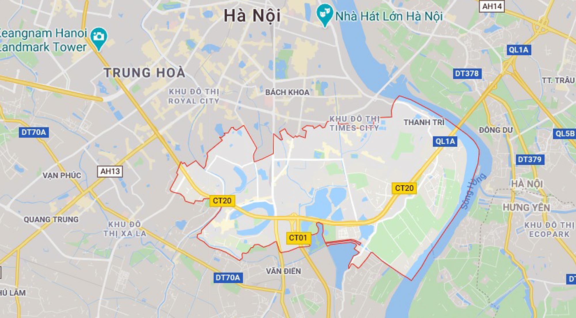 Những mảnh đất sẽ được đào hồ lớn theo qui hoạch ở quận Hoàng Mai - Ảnh 1.