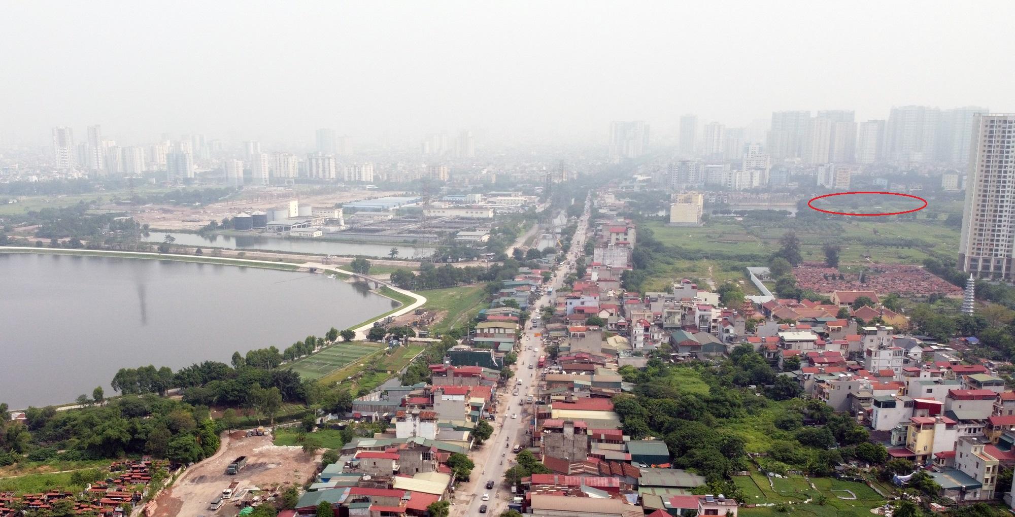 Những mảnh đất sẽ được đào hồ lớn theo qui hoạch ở quận Hoàng Mai - Ảnh 3.