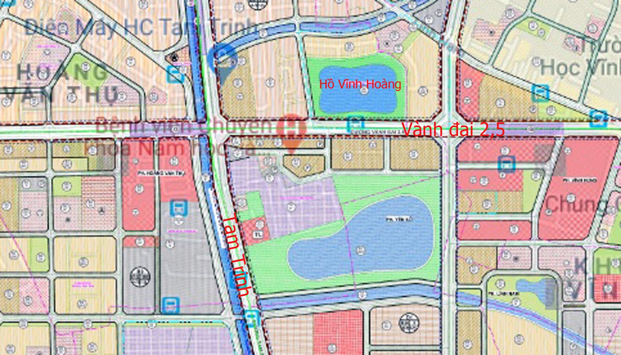 Những dự án chung cư gần các khu đất sẽ đào hồ lớn ở quận Hoàng Mai - Ảnh 1.