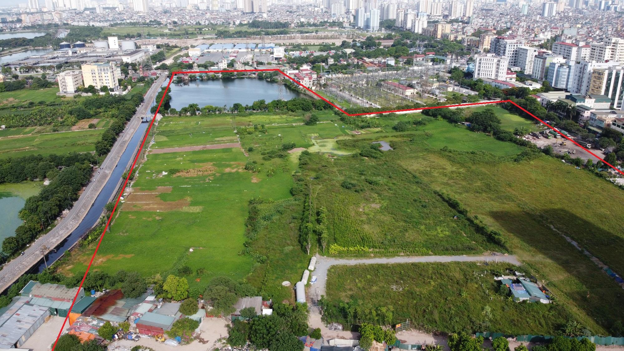 Những mảnh đất sẽ được đào hồ lớn theo qui hoạch ở quận Hoàng Mai - Ảnh 4.