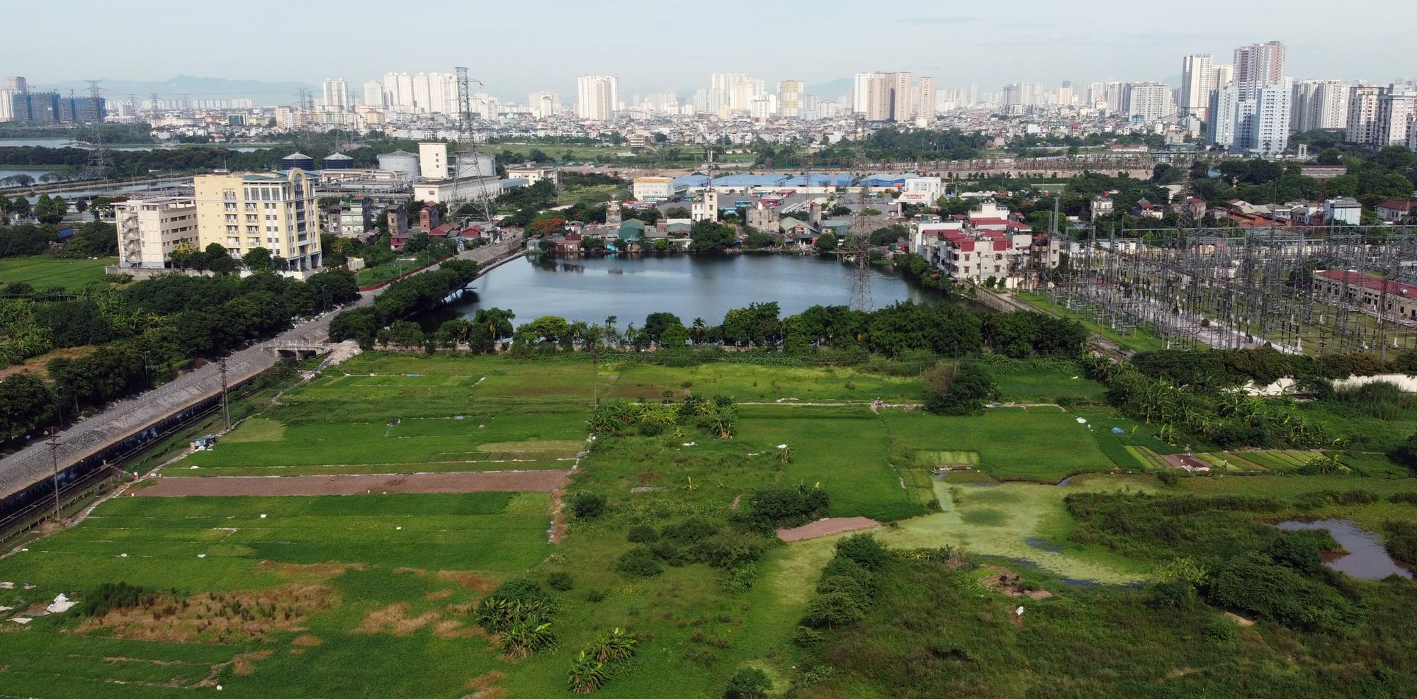 Những mảnh đất sẽ được đào hồ lớn theo qui hoạch ở quận Hoàng Mai - Ảnh 6.