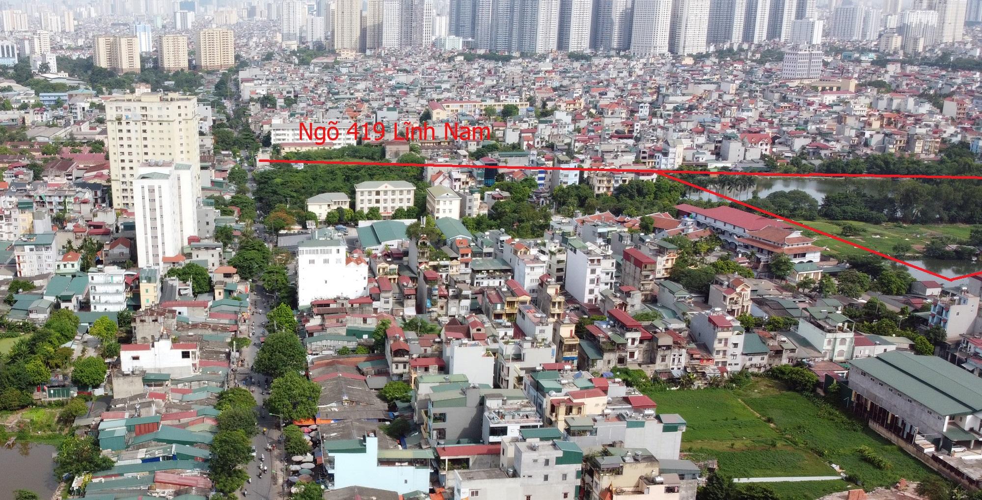 Những mảnh đất sẽ được đào hồ lớn theo qui hoạch ở quận Hoàng Mai - Ảnh 8.