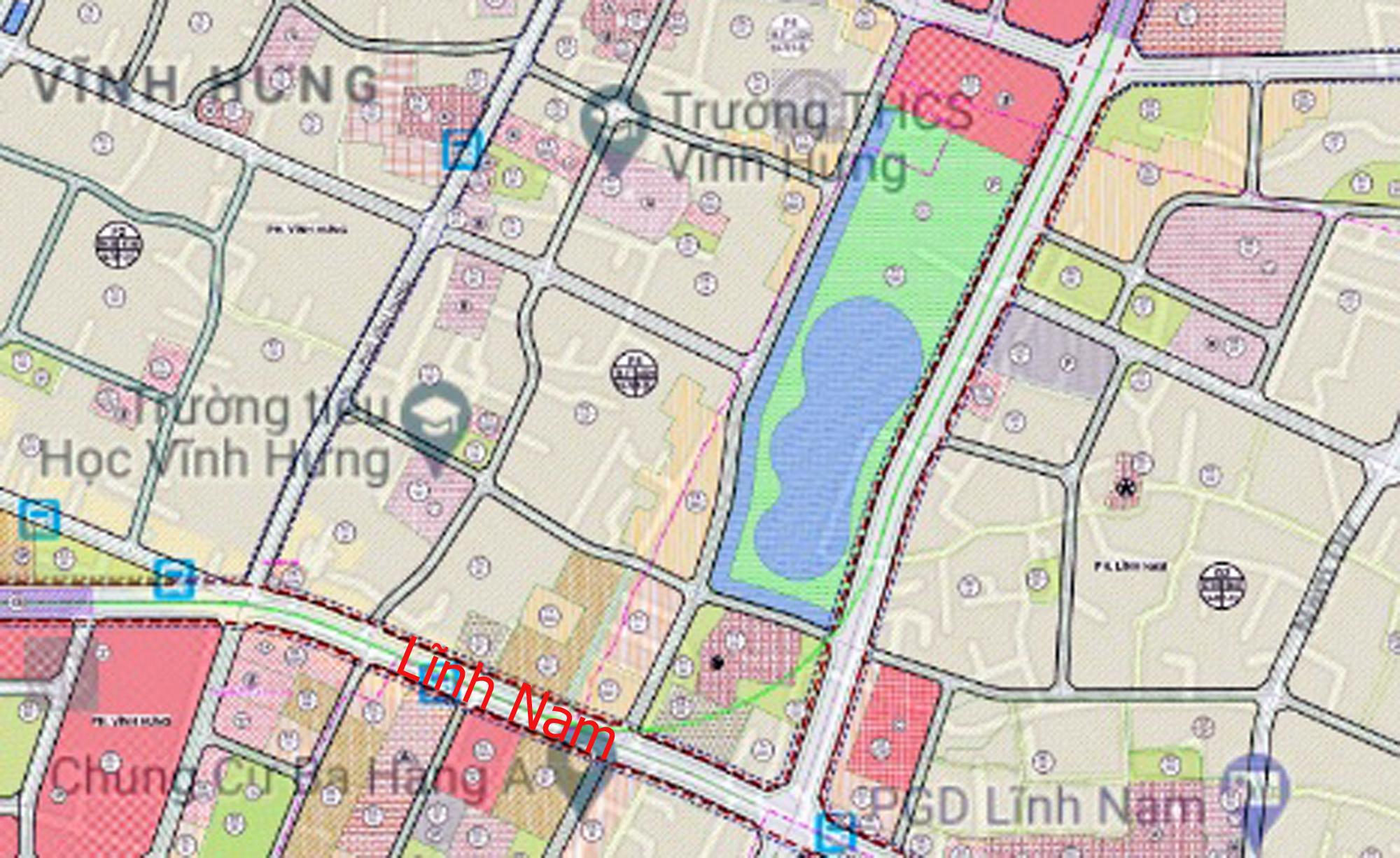 Những dự án chung cư gần các khu đất sẽ đào hồ lớn ở quận Hoàng Mai - Ảnh 6.