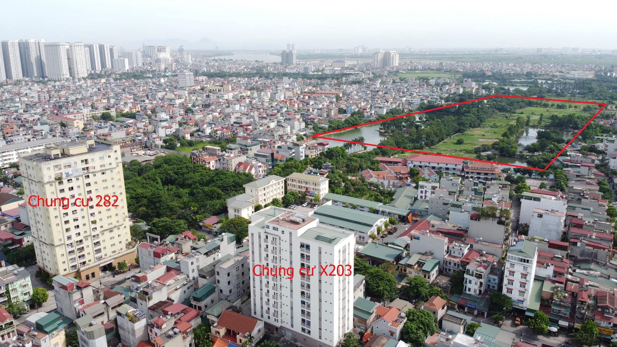 Những dự án chung cư gần các khu đất sẽ đào hồ lớn ở quận Hoàng Mai - Ảnh 8.