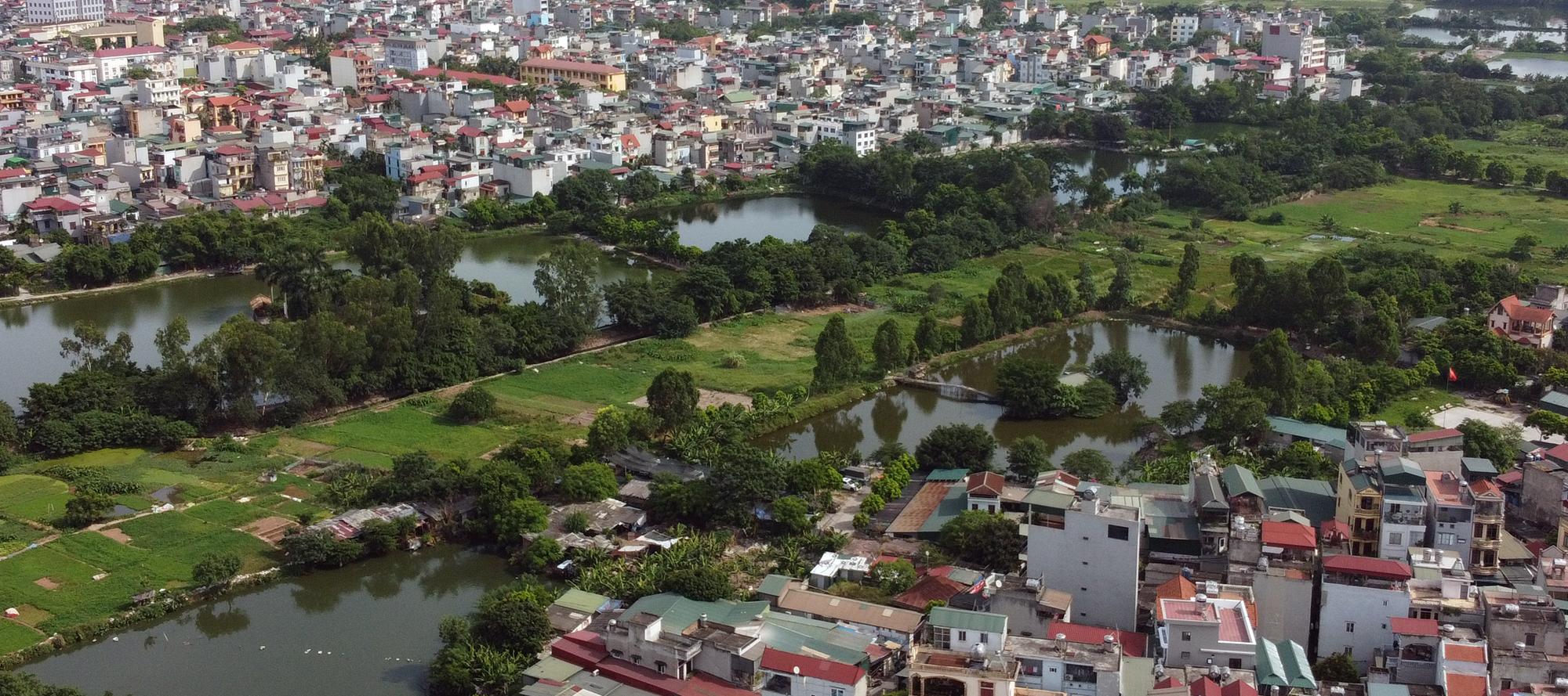 Những mảnh đất sẽ được đào hồ lớn theo qui hoạch ở quận Hoàng Mai - Ảnh 11.