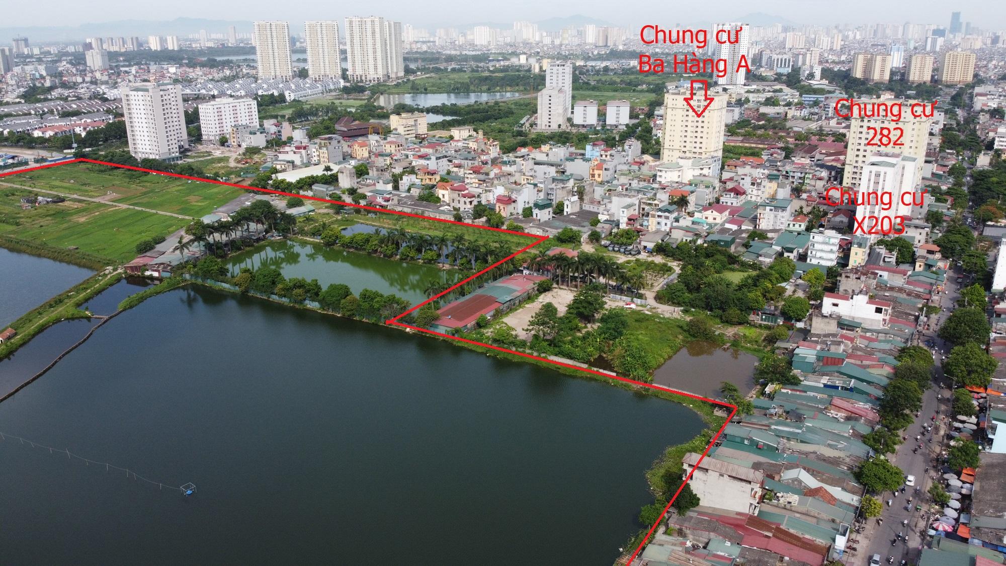Những dự án chung cư gần các khu đất sẽ đào hồ lớn ở quận Hoàng Mai - Ảnh 12.